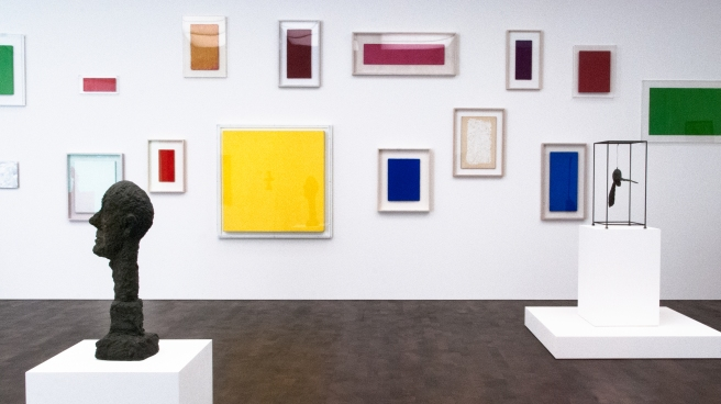 Klein and Giacometti