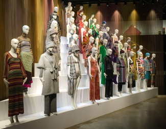 The garments of Missoni
