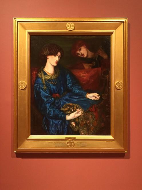 'Mariana' 1870, Dante Gabriel Rossetti