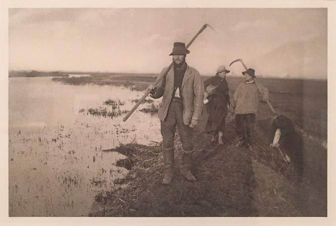 'Coming home from the Marshes' 1885, Peter Henry Emerson and Thomas Frederick Goodall