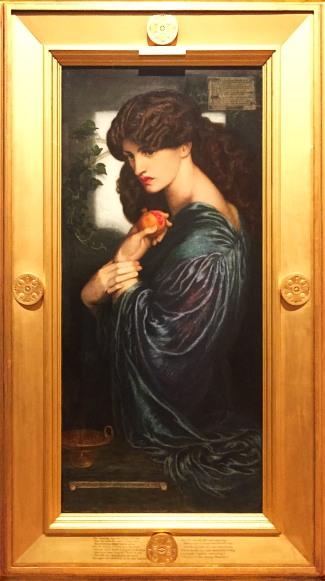 'Prosperine' 1874, Dante Gabriel Rossetti