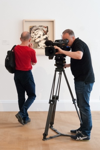 Filming and Frank Auerbach
