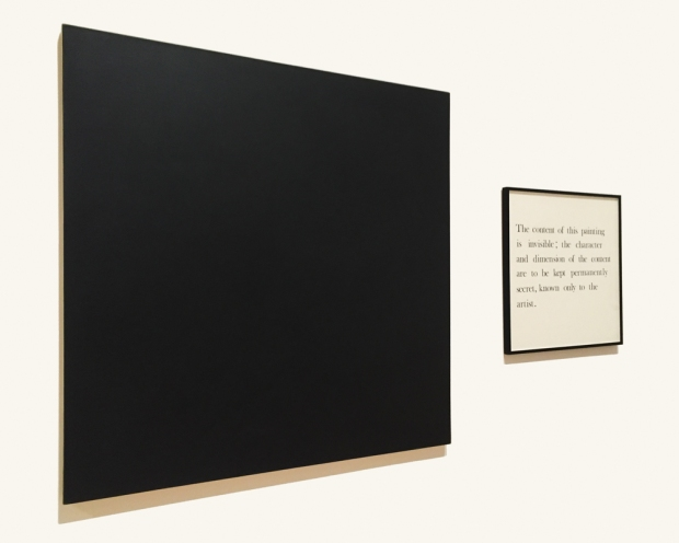 Oxygen Molecules 6, Secret Painting, Mel Ramsden, 1967-68