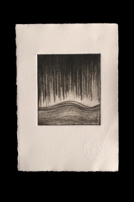 Abstract 2, Drypoint Print