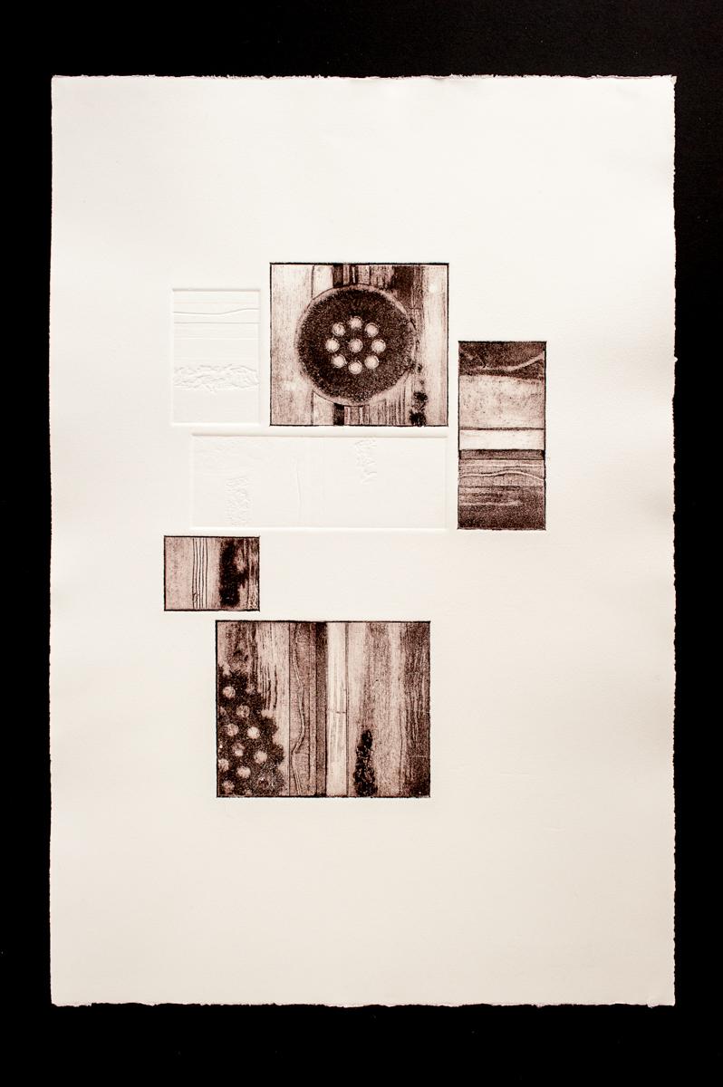 Composition, Collagraph
