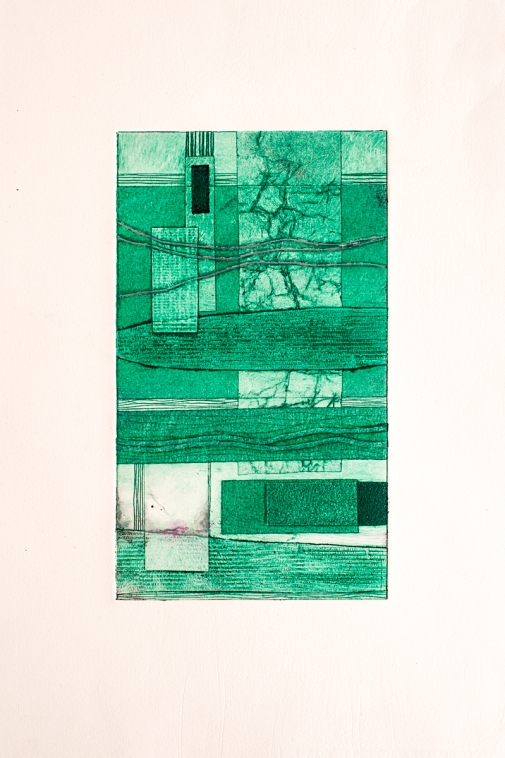 Hand Finished Collagraph 2