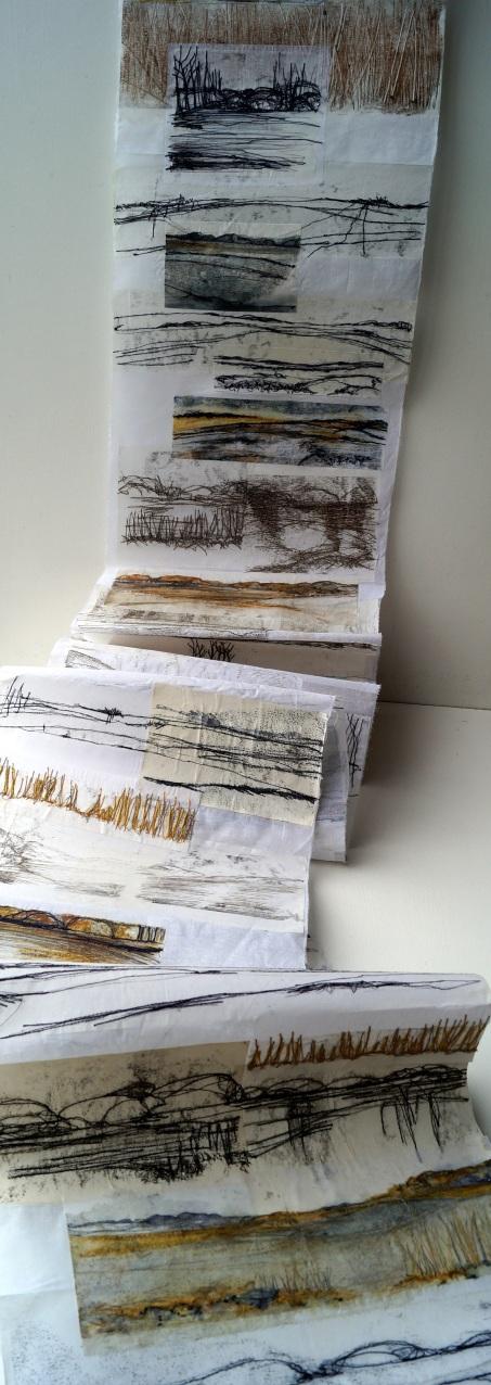 Amanda Hislop - Landscape Scroll Sketchbook