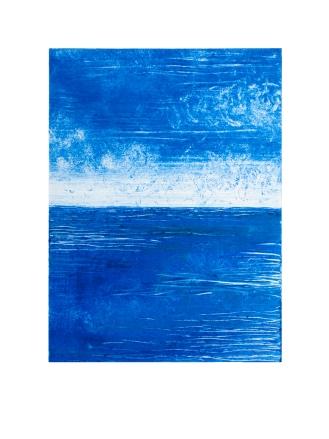 Monoprint (Seascape 2)