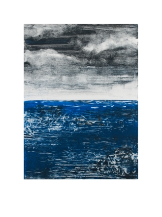 Monoprint (Seascape 4)|