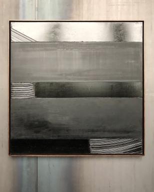 32 Outrenoir Peinture, 136 x 136, 1990